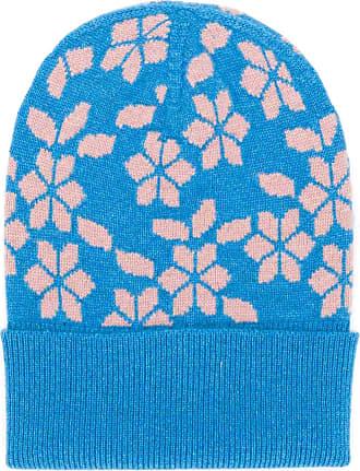 Barrie Gorro New Delft de cashmere - Azul