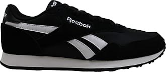 Reebok Womens Royal Ultra Canvas Low Top Lace Up Running, Black/White, Size 6.5 US