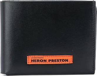 HPC Trading Co. foldover leather wallet - Preto
