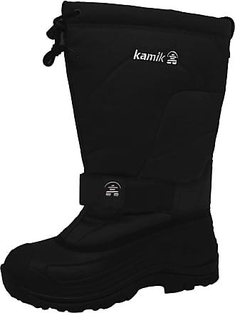 kamik Mens Greenbay4 Snow Boots, Black (Black Blk), 10 UK