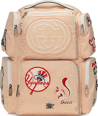 5135d3f46d3ac Gucci Mochila Grande con Parches NY Yankees