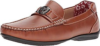 Stacy Adams Mens Cyrus MOC Toe BIT Slip-ON Driving Style Loafer, tan, 8 M US