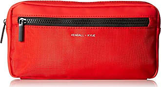 Kendall + Kylie Olympia-Red Nylon, mesh