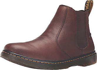 337829a0c417a8 Dr. Martens Mens Lyme Chelsea Boot Dark Brown 9 UK 10 M US