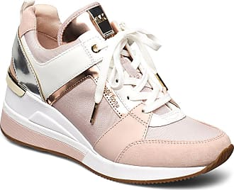 Michael Kors Georgie Trainer Låga Sneakers Rosa Michael Kors Shoes
