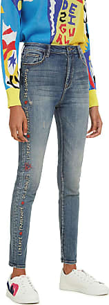 Desigual Calça Jeans Desigual Skinny Fraternité Azul