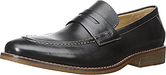 G.H. Bass & Co. Mens Conner Slip-On Loafer, Black, 10.5 M US
