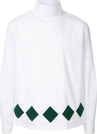 Namacheko Camisa gola alta - Branco