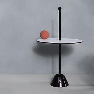 ZANOTTA Design Servomuto Serving Side Table White Top