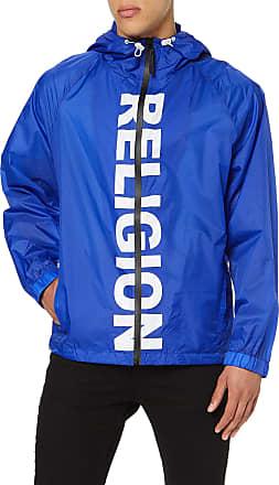 Religion Mens POP Sports Hoodie, Blue (Bright Blue 033), Large (Manufacturer Size:L)