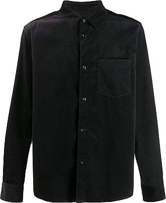 A.P.C. Camisa lisa com acabamento brilhoso - Cinza