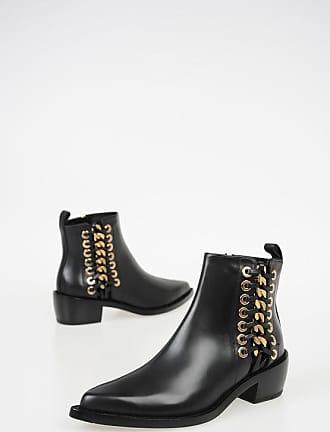 Alexander McQueen 5cm Leather Boots Größe 38