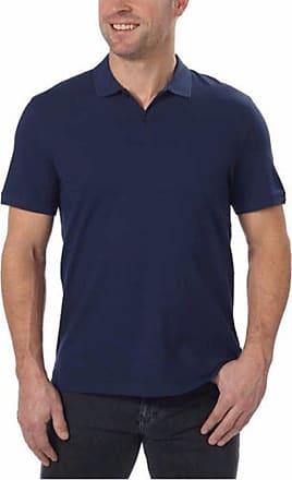 714258af Calvin Klein Calvin Klein Mens Lifestyle Soft Liquid Cotton Short Sleeve Polo  Shirt