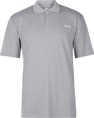 Slazenger Womens Plain Polo Shirt Short Sleeve Performance