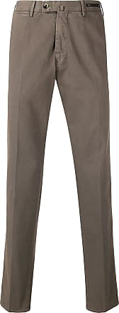 PT01 classic tailored trousers - Brown