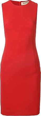Blanca Vestido slim - Vermelho
