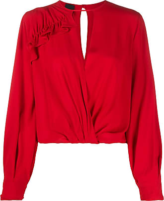 Pinko wrap-style blouse - Red