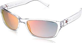 9ae381f521 Fatheadz Eyewear Mens Shue V2.0 Polarized Rectangular Sunglasses Clear 40 mm