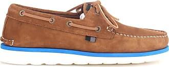 Woolrich Mens Boat Shoes Cognac EU 43