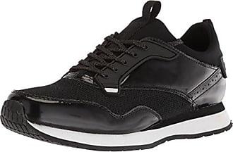 Steve Madden Mens GOLSEN Sneaker, Black, 11.5 M US