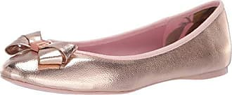 Ted Baker Womens Immet Ballet Flat, Rose Gold, 4.5 M US