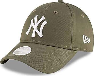 5e8e7663 New Era NY Yankees Womens 940 League Essential Baseball Cap (Khaki/White)
