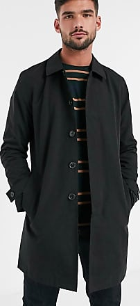 Burton Menswear mac in black