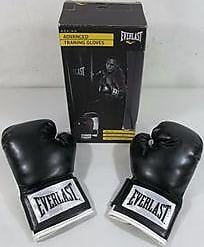 Everlast 2912BT 12 oz Advanced Boxing Gloves - Black