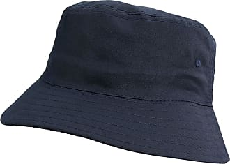 4sold Men Women Adults Bucket Hat Summer Fishing Fisher Beach Festival Sun Cap (Navy)