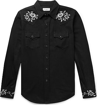 2e301754 Saint Laurent Long Sleeve Shirts for Men: Browse 129+ Products ...