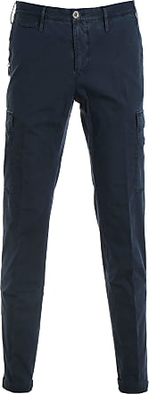 PT01 Fashion Man TTCRZL0WOLNU060377 Blue Cotton Pants | Spring Summer 20