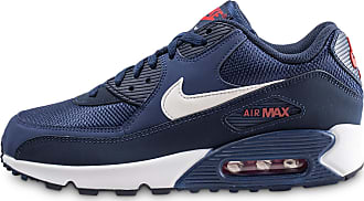 782cd47947be1 Nike Homme Air Max 90 Essential Bleue Et Blanche Baskets