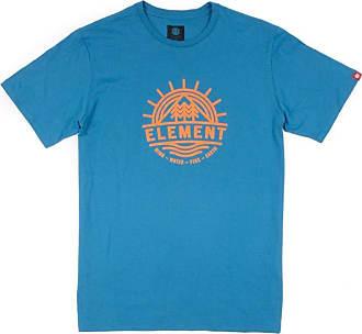 Element Camiseta Element Factor Ss Azul