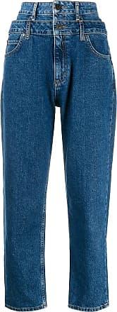 Sandro Calça jeans duplo cós Kitty - Azul