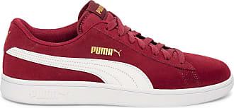 puma baskets femme rouge