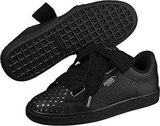 620389cd13e5 Puma Basket Heart Ath Lux Damen Sneaker Puma Black-Puma Black 3