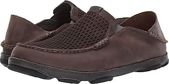 Olukai Moloa Aho (Charcoal/Dark Shadow) Mens Shoes
