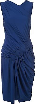 Jason Wu Vestido com franzido - Azul
