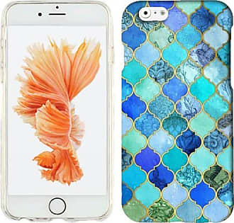 Mundaze Mundaze Blue Stone Tiles Phone Case Cover for Apple iPhone 6S/6