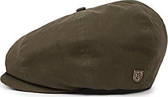 Brixton Mens Brood Newsboy Snap Hat, army, X-Small