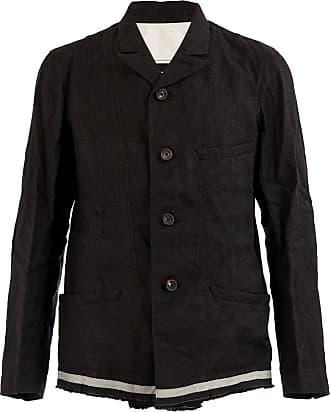 Ziggy Chen front button blazer - Black