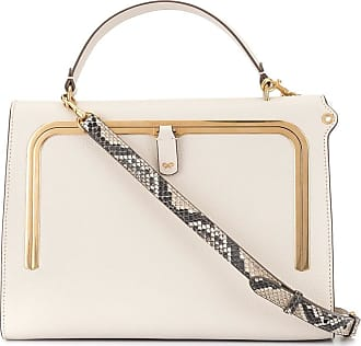 Anya Hindmarch Borsa Tote Postbox Piccola Donne Color Carne