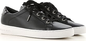 9120ddc7390 Michael Kors Sneakers for Women On Sale in Outlet, Black, Leather, 2017,