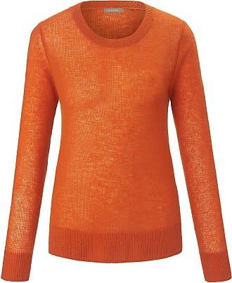 include Rundhals-Pullover include orange