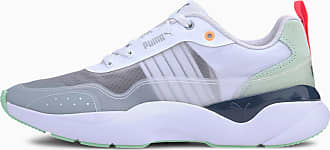 Puma Lia Sheer Womens Trainers, White, size 3.5, Shoes
