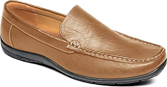 Chums Mens Wide Fit Driving Shoe Tan 11 UK