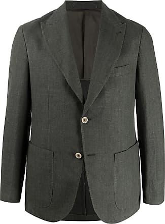 Eleventy long sleeve two button blazer - Green