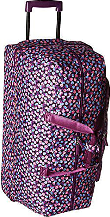 Vera Bradley Womens Large Wheeled Duffel, Berry Burst