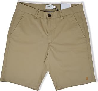 Farah Leichte Sand Hawk Garment Dyed Shorts - 30 - Natural