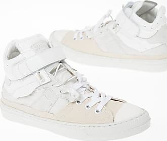 Maison Margiela MM22 Leather and Fabric High Sneakers size 41